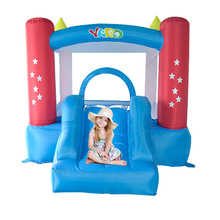 YARD Star Mini Bouncy Castle Slide for Kids Parties Cute Inflate Jumping Toys Special Offer for Hot Zone