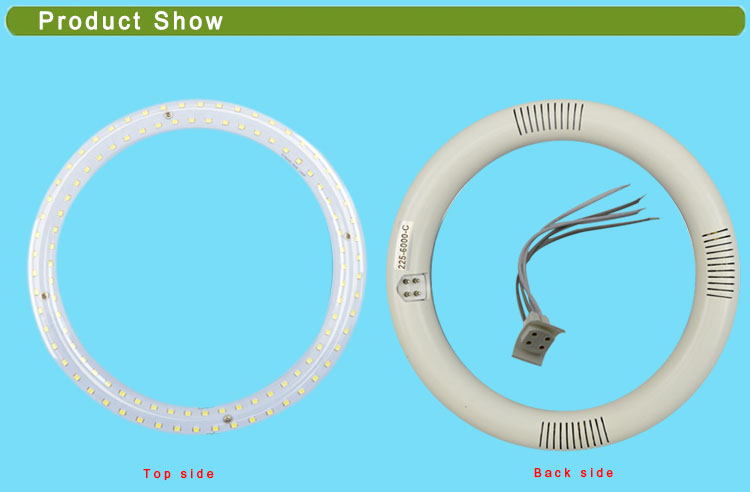 LED Circular Light with Clear PC Cover