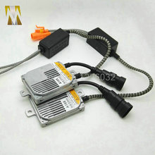 2pcs 55W HID xenon ballast digital metal blocks ignition electronic ballast for HID kit xenon H7 H4 H1 H8 H11 2 years warranty