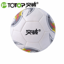PTOTOP Competition Football Soccer Ball Size 4 Kids Students PVC Anti-Slip Seemless Match Training Practice Free Shipping(China)