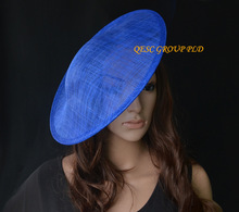 NEW Royal blue fascinator base 1.3cm satin headband for sinamay fascinator hat.