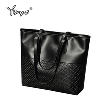 YBYT brand 2017 new tote knitting medium handbag hotsale ladies party purse wedding clutch vintage women shoulder shopping bags(China)
