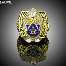 LAKONE Champions ring, 2010 Auburn Tigers Football National Championship Ring, sports fans ring, men gift ring