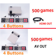 4 Styles Mini Console Support HDMI/AV TV Handheld Game Player Video Game Console To HDMI/TV With 620/600/500 Built-in Games(China)