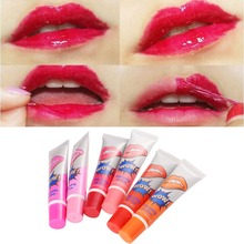 6 Colors Waterproof Long Lasting Liquid Brand New Lip Gloss Matte Tattoo Magic Color Tone Peeling Mask Pack Makeup For lips(China)