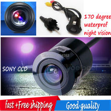 Parking Assistance SONY CCD HD ccd HD Universal Night Vision Car Rearview Camera Reverse parking mini drill hole camera for all(China)