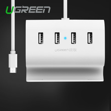 Ugreen USB Type C 4 Ports HUB Super Speed with Charging Interface USB-C to USB Splitter For Pro Phone Macbook Keyboard HD Mouse