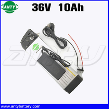 Electric Bicycle Battery 36v 10ah 350 Watt Lithium ion Battery 36v With 42v 2A Charger 15A BMS eBike Battery 36v Free Shipping