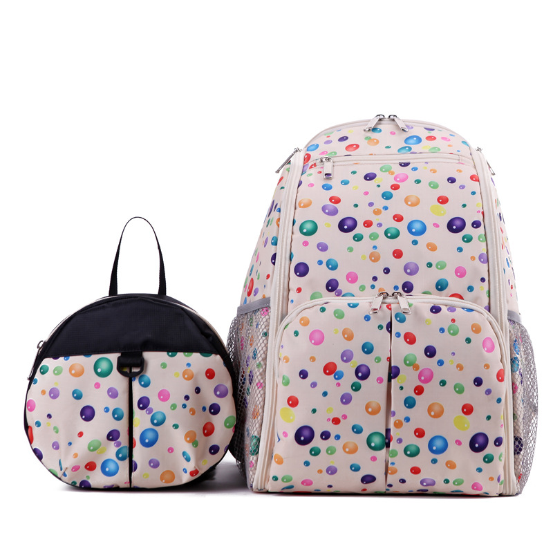 Twinset Baby Mom Shoulders Bags,Children Anti Lost Backpacks,Multifunctional Parent-Child Bags Set,Mother Maternity Diaper Bags<br>