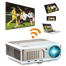 EUG  lcd  projector 1024x600 200'' Mini Android  projector  WIFI HDMI red and blue 3D projector for Home