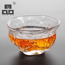 TANGPIN handmade japanese heat-resistant glass tea cup novelty glass cup of tea accessories drinkware(China)