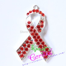 Free Shipping 10Pcs/Lot Theme Breast Cancer Pendant For Women's Health Pendant