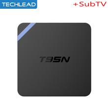 T95N Android Subtv iptv Media player with Russian Greek Denish Canadian TV channel Arabic French spanish account Dutch sweden tv
