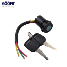 GOOFIT 3 Wire Ignition Switch Key 50cc 70cc 90cc 110cc 150cc 200cc 250cc Go Kart Dune Buggy Buggies ATV Dirt Bike Parts H054-011