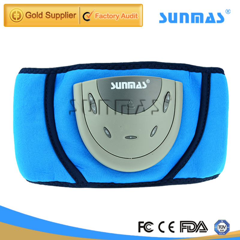 EMS Muscle stimulator Smart slimming massage belt Abs Abdominal Muscle Toner Core Abs Workout Belt EMS abdominal muscles<br>