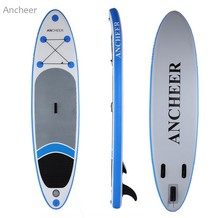 ANCHEER  new 10ft Inflatable Stand Up Paddle Board iSUP with Adjustable Paddle Backpack