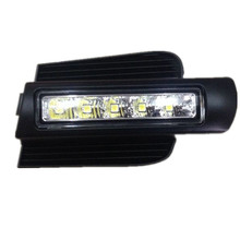 Hot sale! LED Daytime Running Light for  Prado 120 LC120 GRJ120 2003~2009 Fog lamp drl bumper light accessories parts