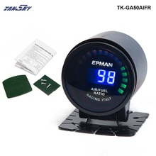 TANSKY - EPman racing 52 mm Smoked LED Digital Air Fuel Ratio AFR Gauge For Mustang GT V8 05-10 TK-GA50AIFR(China)