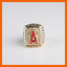 2002 LOS ANGELES ANGELS WORLD SERIES CHAMPIONSHIP RING US SIZE 11