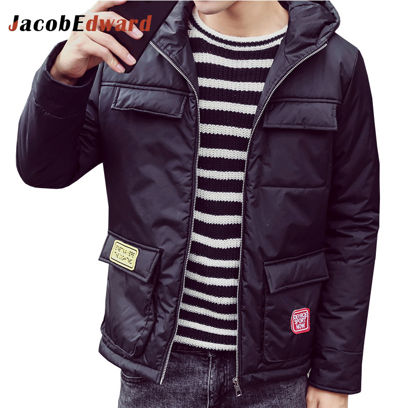 Fashion Parka Homme Long Sleeve Slim Fit Brand-Clothing 2016 Winter Warm Jacket Plus Size Casual Jacket Coat Teenager OvercoatÎäåæäà è àêñåññóàðû<br><br>