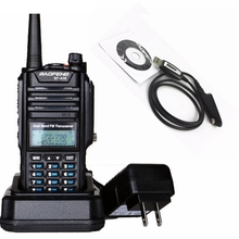 IP 67 waterproof dual band VHF UHF 128channel baofeng A58 walkie talkie Outdoor raining radio for wild climbing police equipment