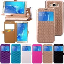 Buy Samsung Galaxy A310 A510 J510 J710 2016 Prime Fashion view window Flip bag Card holder phone case Samsung A3 A5 2017 for $5.58 in AliExpress store