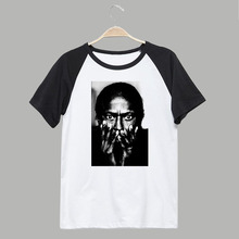 Miles Davis jazz theme vintage fashion breathable printing t shirts(China)