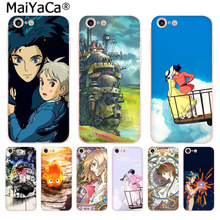 Buy MaiYaCa Howl's Howls Moving Castle New Arrival Fashion phone case Apple iPhone 8 7 6 6S Plus X 5 5S SE 5C 4 4S Mobile Cover for $1.30 in AliExpress store