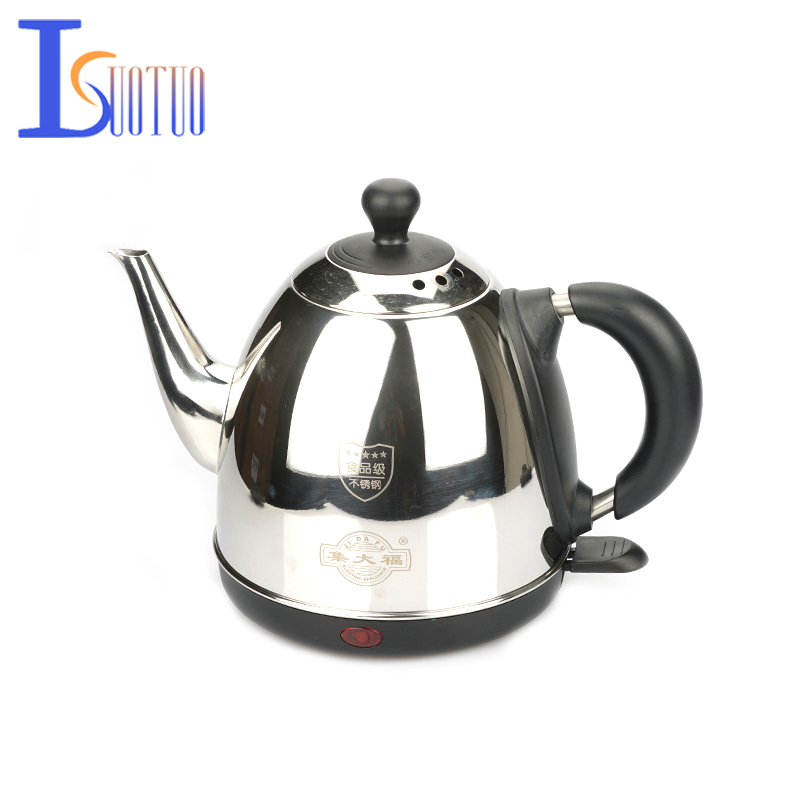 JDC-1000F Household 1.2L Stainless Steel Electric Water Kettle With Safety Auto-off Function Quick Electric Boiling Pot<br>