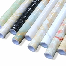 0.6*3M /5M Waterproof PVC Wall Sticker Bedroom Window Sill Self adhesive Decorative Wallpaper Bathroom Furniture Marble Stickers