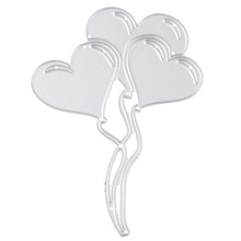 Hoomall Party Balloon Metal Cutting Dies Embossing Folder Die Cuts Template For Scrapbooking Party Wedding Cards Decorative