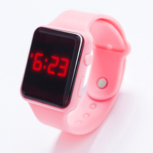 Fashion women watches sports watch colors optional digital display LED electronic Silicone strap leisure Ladies Wrist watch