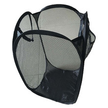 Foldable Pop Up Washing Laundry Basket Bag Hamper Mesh Storage Laundry Products Dirty clothes basket