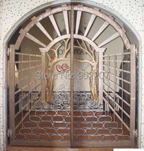 forge iron gate iron doors iron doors,wrought iron door