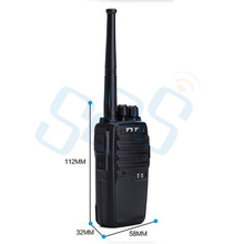 Original TYT T5 Transceiver UHF400-520mhz Portable ham CB walkie talkie TYT-T5 2015 newest product BBK007 free shipping(China)