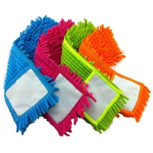 Replacement pad for flat mop,mops floor cleaning pad,chenille flat mop head replacement refill,head to floor mops