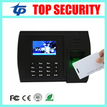 Biometric fingerprint + RFID card time attendance terminal linux operating system TCP/IP USB fingerprint time attendance clock