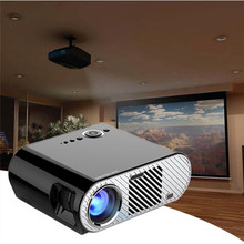 Portable 1080p Mini LED Projector with Infrared Remote Control for Private Home Theater Business Conference Teaching  Projector