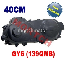 GY6 50cc Left Side Cover 40cm for Chinese Scooter 50cc ATV Go Karts Moped MIGY50-4012