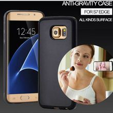 Hot PC Anti-gravity Case for Samsung S6 S6edge Magical Anti gravity Nano Suction Cover Antigravity Cases for S6 edge plus/note5