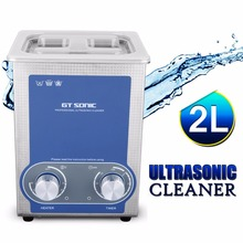 GT Sonic-P2 2L Cleaning Appliances Ultrasonic Cleaner Bath Jewelry Eyeglass Electronic Surgical components Cleaning Machine(China)