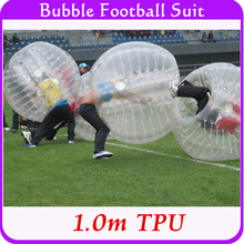 1.0m TPU Human Hamster Bumper Ball,Bubble Soccer Suit, Inflatable Body Ball For Children Kids 0.8mm Thickness Heat Sealed