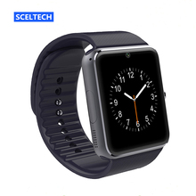 SCELTECH Bluetooth GT08 Smart watch With Camera Support SIM TF Card for Apple iPhone IOS Android Phone Sport Watch PK DZ09 A1