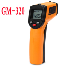 GM320 Digital Infrared Thermometer Temperature Tester IR Laser Temperature Range -50 to 380C, LCD Display IR temperature meter