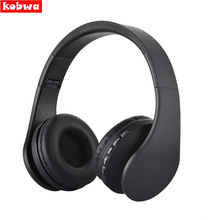 BT-811 Wireless Headphones Bluetooth Noise Cancelling Stereo Ear headset FM MP3 for Samsung Galaxy MP3 Player with memory card(China)