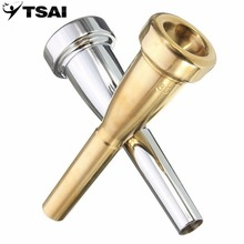 Trumpet Mouthpiece TSAI 3C Size For Yamaha For Bach Metal Trumpet Mouthpiece For High Register And C Trumpet Accessaries Popular(China)