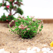 Artificial Bush Flower Miniature Fairy Garden Home Houses Decoration Mini Craft Micro Landscaping Decor DIY Accessories
