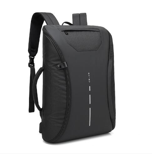 BAIBU 2018 New Men Backpack Multi-function USB Charge Laptop Backpack High-capacity Anti theft Waterproof Travel School Bag<br>