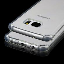 Buy Luxury Silicone Case Samsung Galaxy S7 edge Transparent Shockproof Clear Crystal Rubber Soft TPU Cover Samsung S7 edge for $1.45 in AliExpress store