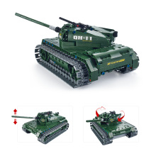 453Pcs Utoghter 69001 2.4G RC Battle Tank Building Blocks Kits Toy Bricks Car 2017 Hot Sale Model DIY Toys  for Children